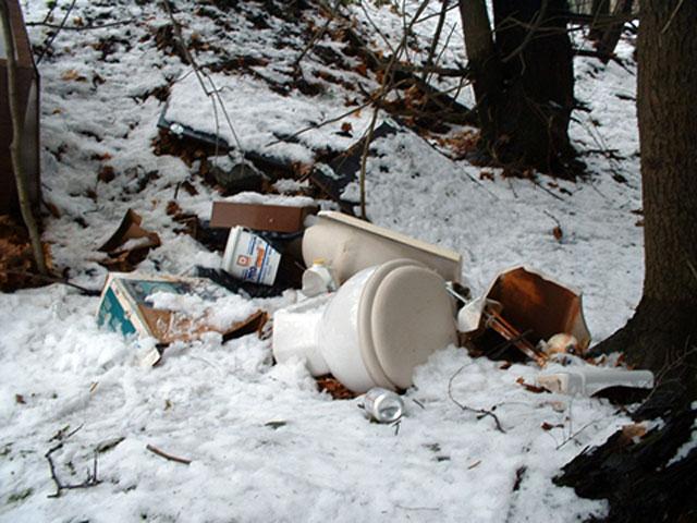 NWSWD Illegal dump site